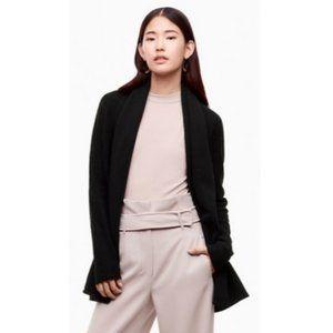 Aritzia Babaton Wool Linen Blend Cardigan Sweater